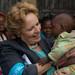 Ms. Gillian Mellsop, UNICEF Ethiopia Representative visiting Integrated Nutrition programme.