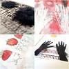 sale (Ines Seidel) Tags: sale ebay paper prints illustration mixedmedia drucke hände erdbeerfrauen zeichnung