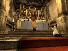 Mass for the Feast of the Ascension (Archdiocese of Lepanto) Tags: firestormsecondlife chuch slchurch catholic slcatholic lepanto archdioceseoflepanto materdolorosa ascension feastoftheascension mass secondlife:region=rothkosecondlifeparcelcatholicchurcharchdioceseoflepantomaterdolorosachurchsecondlifex54secondlifey12secondlifez27