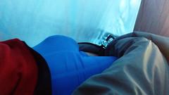IMG_20161231_101028337 (bulgeman4) Tags: bulto bulge shorts spandex lycra boxer tent carpa outdoor