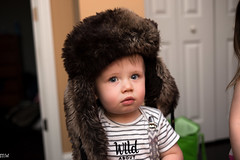 Baby in a Hat (MikeWeinhold) Tags: james babyinahat hat childportrait 6d 35mm