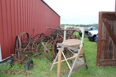Newfane 066 (48) (swi66) Tags: dunkirk hit miss motors diesel cannons farm tractor john deere antique historical