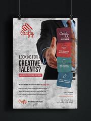 Clean Corporate Multipurpose Flyers (ashraful.kotc) Tags: flyer business eddm ads illusrator