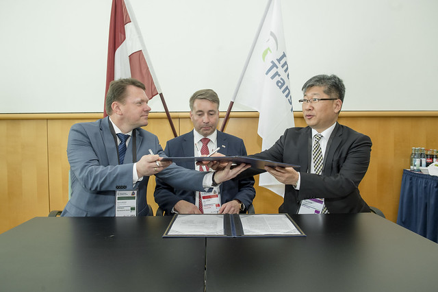 Latvijas Dzelzcels becomes a Corporate Partnership Board member