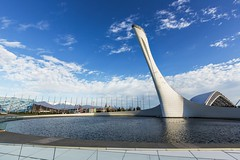 Олимпийский парк (vikkay) Tags: сочи олимпиада 2014 факел площадь фонтан пейзаж парк отдых спорт