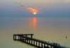 Sunrise at the baltic sea (frankhurkuck) Tags: sonnenaufgang sunrise ostsee timmendorfer strand beach balticsea sonne sun sunset timmendorferstrand schleswigholstein norddeutschland meer meersonne