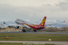 Hainan Airlines B-6118 A330-200 (IMG_7614) (Cameron Burns) Tags: hainanairlines hainan hu b6118 airbus airbus330200 airbus330 a330200 a330 a332 pek beijing china manchester airport manchesterairport man egcc ringway viewing park airfield aviation aerospace airliner aeroplane aircraft airplane plane canoneos550d canoneos eos550d canon550d canon eos 550d uk united kingdom unitedkingdom gb greatbritain great britain europe action