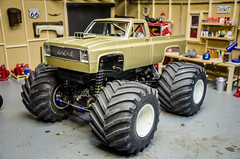 New Tamiya Clodbuster Squarebody Monster Truck Project-2 (Strangely Different) Tags: rceveryday rcengineering monstertruck hobby scaler tinytrucks rccar radiocontrolled rc4wd rcratrod scalerc customrc rc