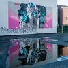 Street-art et reflet (musette thierry) Tags: musette thierry d800 reflet jeux 28300mm nikon louvainlaneuve belgium belgique streetsart tag art