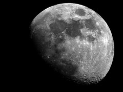 Moon, Mond mit 2000mm Tele geschossen. (W@llus2010) Tags: moon mond nikon superzoom p900