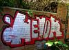 graffiti in Doel (wojofoto) Tags: graffiti streetart doel belgie belgium dorp wojofoto wolfgangjosten hevok