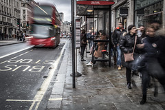 Rush (Henka69) Tags: streetphotography streetcolour london bus movement motion