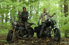 Daryl and Merle Dixon (rodstoybox) Tags: thewalkingdead walkingdead scoobydoo walkers zombies morgan ezekiel shiva daryle merle dixon mcfarlane toys horror jones walking dead daryl