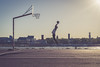 4051 (.niraw) Tags: köln deutz deutzerwerft basketball basketballkorb sonne schatten licht rhein niraw schokoladenmuseum tasche sprung