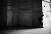 L1027539 (Daniele Pisani) Tags: milano stazione centrale uomo ragazzo nero cappellino muro architettura controluce pomeriggio tsardi milan italy italia
