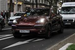 Russia (St. Petersburg) - Porsche 958 Cayenne (PrincepsLS) Tags: russia russian license plate 178 st petersburg germany berlin spotting porsche 958 cayenne