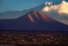 Cerro Loromita (Bill Bowman) Tags: cerroloromita bolivia altiplano volcano thunderstorm sunset