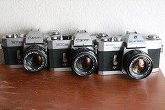 Canon EX Series (dcsides) Tags: canon ex ee auto 35 reflex bell howell 50mm f18 ql