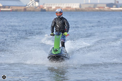 Giz a go......... Go ed................ (alundisleyimages@gmail.com) Tags: jetski rivermersey people action sport speed water splash helmet ports harboursmaritime fun hobby northwest england bokeh newbrighton wirral