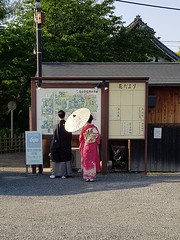 2018-05-18_10-11-24 (jumppoint5) Tags: kyoto together people street kimono jap urban city umbrella