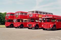 RM1368, RM2118, RM1990 & RM737 (Callum's Buses and Stuff) Tags: erm737 wlt737 buses bigredbus parkroyal royal londontransport london bus routemaster rally