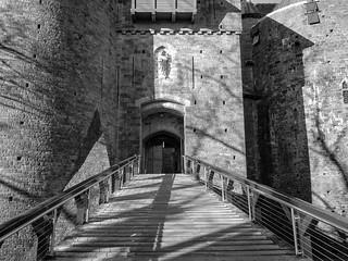 Castell Coch, Main Entrance