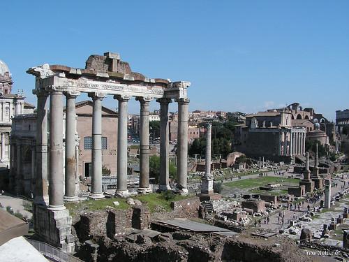 Римський форум, Рим, Італія InterNetri Italy 397