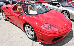 2004 Ferrari 360 Spider Convertible (Bill Jacomet) Tags: keels and wheels concours delegance lakewood yacht club seabrook tx texas 2018 2004 04 ferrari 360 spider convertible