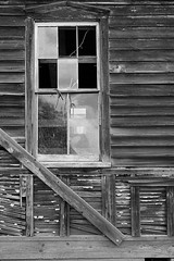 2018-04-28 18-07-05 (_MG_3235) (mikeconley) Tags: johnstown newyork eriecanal blackwhite bw window siding ruin fortherkimer usa