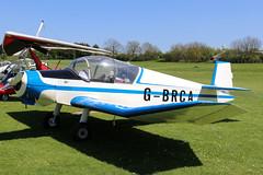 G-BRCA (GH@BHD) Tags: gbrca jodel d112 jodelclub jodeld112club pophammicrolighttradefair2018 pophamairfield popham aircraft aviation