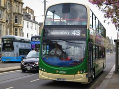 Lothian Country 934 (SN09CVV) - 11-05-18 (peter_b2008) Tags: lothiancountry lothianbuses volvo b9tl wright eclipsegemini2 934 sn09cvv edinburgh buses coaches transport buspictures