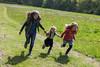 family running (grahamdale74) Tags: bluebells 2018 alyssia caitlin chel
