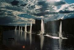 171 (Kath Doroshyna) Tags: bridge water sky fountains 35mm