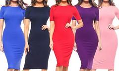 $19.99 – Style Clad Women's Bodycon Midi Dress with Short Sleeves S (2-4) Slate Blue – Was $59.00 https://t.co/vRTBjWqV2l https://t.co/wW1A9wsI04 (tonnesof) Tags: online shopping tonnesof