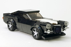 1970.5 RS/Z28, Now With Chrome (HotDogSandwiches) Tags: lego moc speed champions