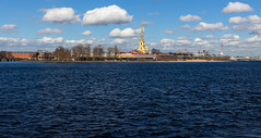 Peter and Paul Fortress (mood-f) Tags: peterandpaulfortress stpetersburg saintpetersburg spb neva nevariver river water spring