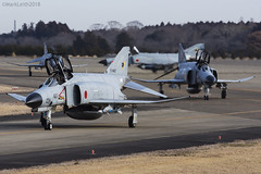 Japan Air Self Defence Force, McDonnell Douglas F-4EJ Kai Phantom II, 87-8427. (M. Leith Photography) Tags: mark leith photography japan japanese self air defence force jasdf mcdonnell douglas phantom f4 ibaraki hyakuri sunshine base fighter nikon d7000 d7200 70200vrii 300mmf4 nikkor asia flying military sky building airplane aircraft cockpit