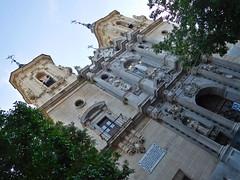 DSCN7159 Basílica de San Juan de Dios, Granada (Thomas The Baguette) Tags: granada spain granadaspain espagne espana alhambra nesrid nesridpalace patiodelosleones lionfountain comares moorish fountains architecture gardens machuca alcazaba