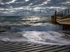 Olivers Hill Boat Ramp (Thunder1203) Tags: canon canonaustralia canoncollective canoneos5dmkiii clouds frankston hdr longexposure luminar morningtonpeninsula olivershill ononephotoraw photomatix pier portphillipbay samyang seascape topazstudio waves jetty