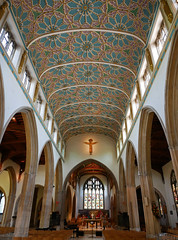 Chelmsford cathedral inside (Matt C68) Tags: chelmsford cathedral church building architecture nave ceiling