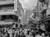 Nankin Machi(南京町) (Hideki Iba) Tags: kobe chinatown japan iphone iphone8 blackandwhite bw monochrome word sign
