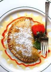 1B5A5644 (David Danzig) Tags: garden gun club the battery atlanta restaurant dessert rhubarb hand pie
