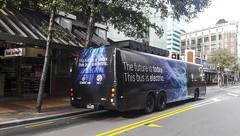 NZ Bus -Test Electric bus - (andrewsurgenor) Tags: transit transport publictransport bus wellington nz streetscenes buses omnibus busse citytransport city urban newzealand electric battery black