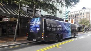 NZ Bus -Test Electric bus -