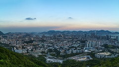 Beacon Hill IV (Raymond.Ling.43) Tags: a7rii summer may kowloon 筆架山 獅子山郊野公園 龍欣道 beaconhill panorama 169 magichour