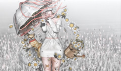 24.04.18 - Broken Flowers (rainbowmubble) Tags: bloom blush catwa collabor88 coyote cureless disorderly ison keke marukin moonamore psychobyts rainbowmubble rainbowsundae secondlife tentacio theepiphany