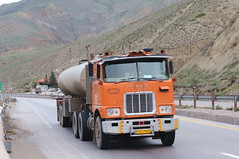Mack Truck, near Firuzkouh, Iran (peter.velthoen) Tags: mack road mountain truck vehicle tanker diesel heavyload iran road79