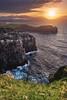 Azores - Ponta do Cintrao (030mm-photography) Tags: rot azoren azores portugal saomiguel reise travel landscape landschaft natur nature pontadocintrao cliffs klippe atlantik atlantic ocean rocks felsen sunset sonnenuntergang
