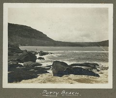 Putty Beach, N.S.W. (maitland.city library) Tags: newsouthwales fred harvey puttybeach ocean seaside sea