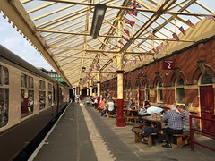 Trackside, Bury station (diamond geezer) Tags: bury burymanchester